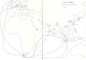 セラミックロードの地図