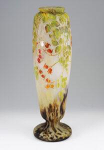 りんごの花文花瓶