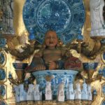 シャルロッテンブルク宮殿 ポースリン・キャビネット