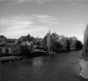 バカラ村に流れるムルト川